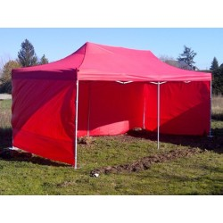 bâches latérales pour barnum 3*6 m rouge