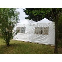 Paroi fenêtre 4.5m 380gr PVC