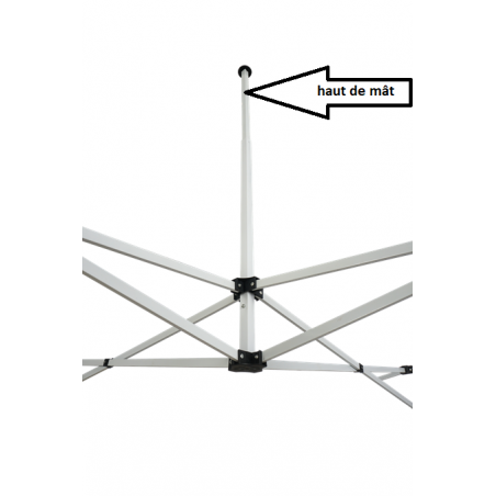 haut de mât tentes 2*3 m