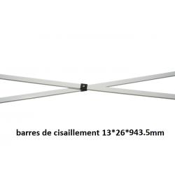 Barres de cisaillement pour tentes 2*3 m