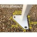 Barnum acier 3*3 m 45 mm