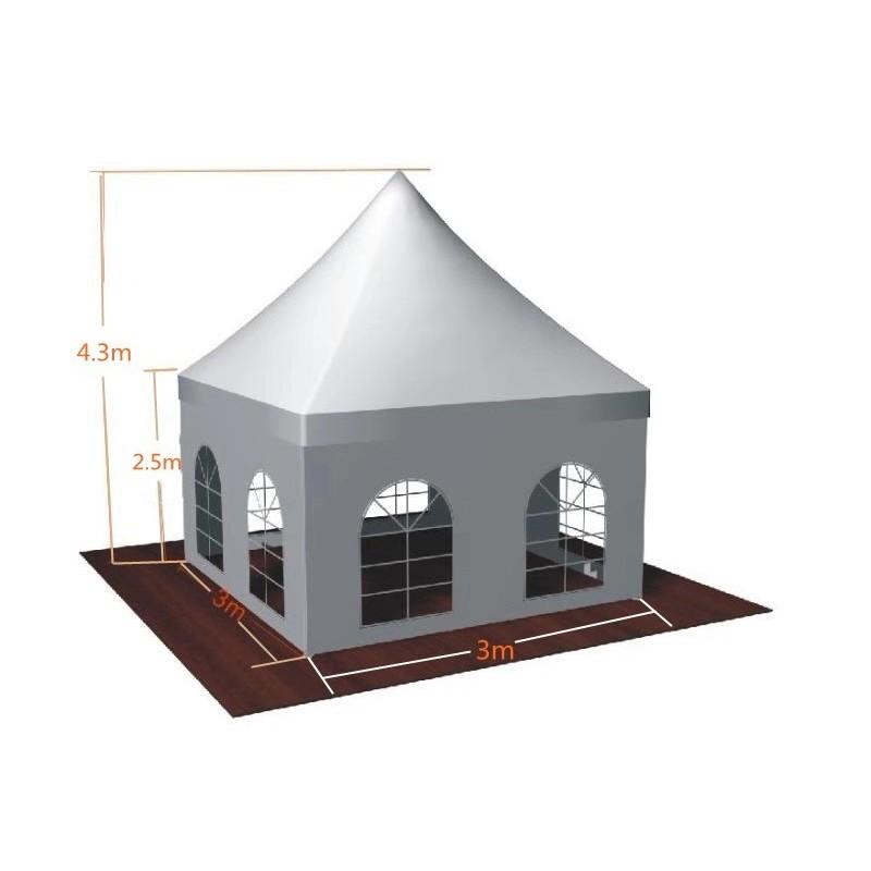 pagode 3*3 m